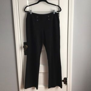 NY Collection black trousers